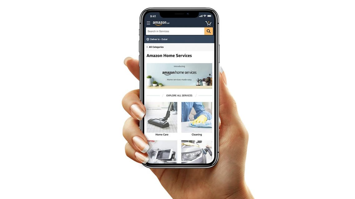 Amazon Home Services launches in the UAE. (Supplied)