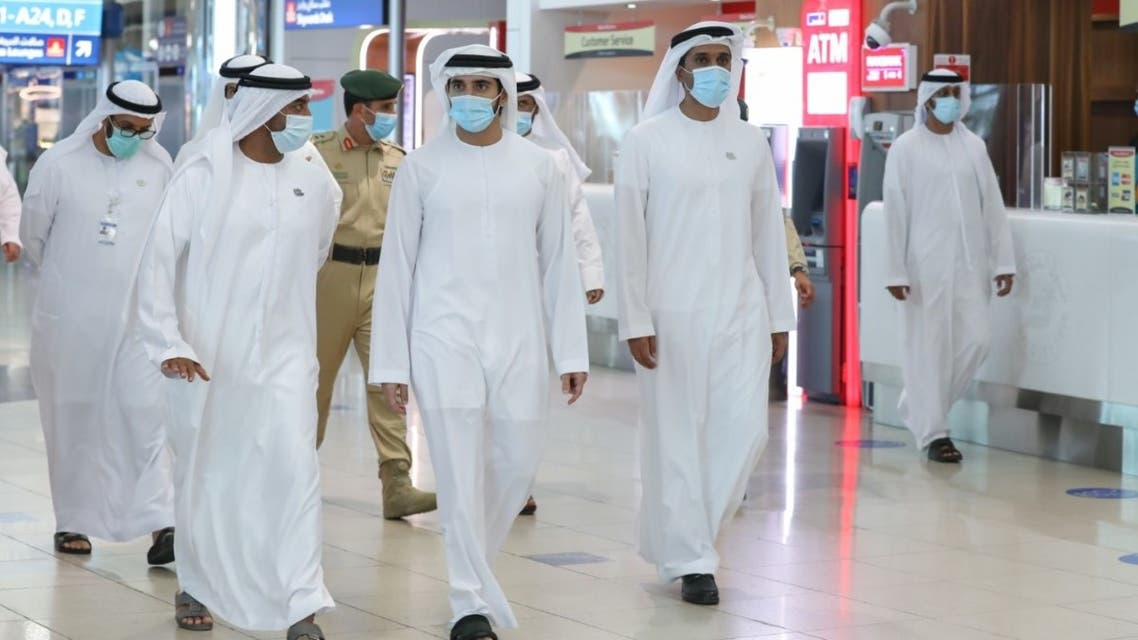 Coronavirus: Dubai Crown Prince inspects Dubai Airport as tourists welcomed back