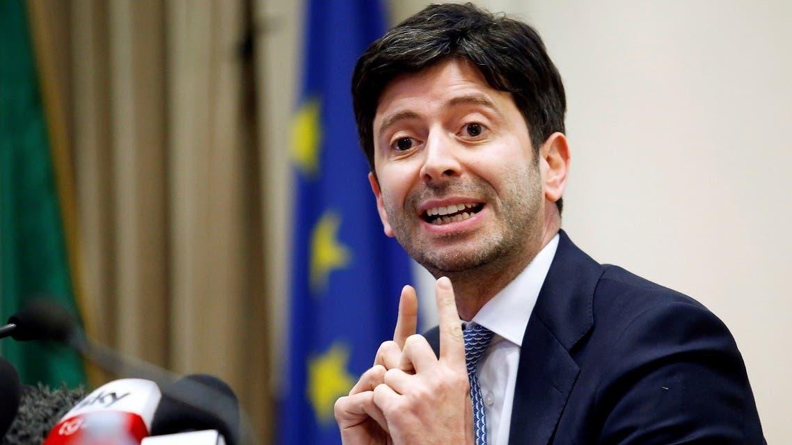 Reuters- Italy Health Minister Roberto Speranza  _1418490872_RC2T7F92J1B6_RTRMADP_3_CHINA-HEALTH-ITALY