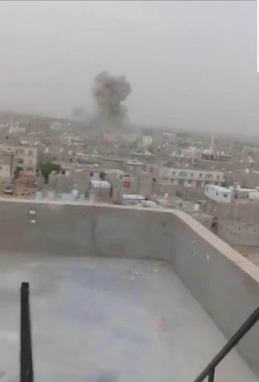 قصف حوثي على مأرب (أرشيفية)