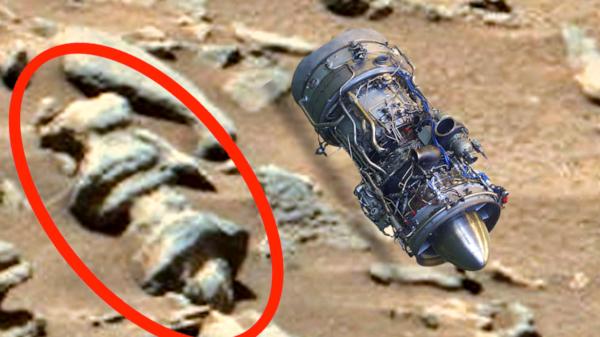 جسم غريب ظهر قبل إطلاق الإمارات مسبارها إلى المريخ
