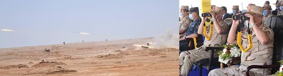 مناورات مصرية على حدود ليبيا