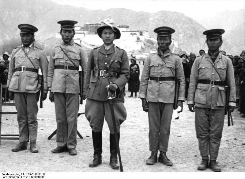 قوات جيش التبت عام 1938