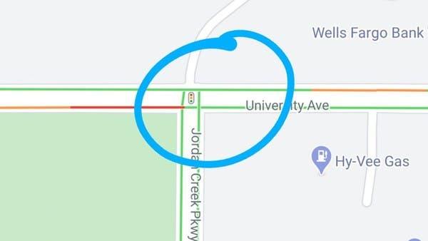 جديد خرائط غوغل.. إظهار إشارات المرور