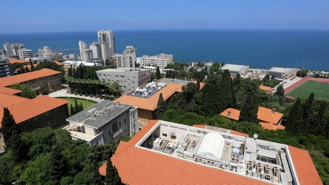 A general view of American University of Beirut's campus (AUB), as one of the Arab world's oldest universities faces its worst crisis since its foundation, May 7, 2020. (File Photo: Reuters)