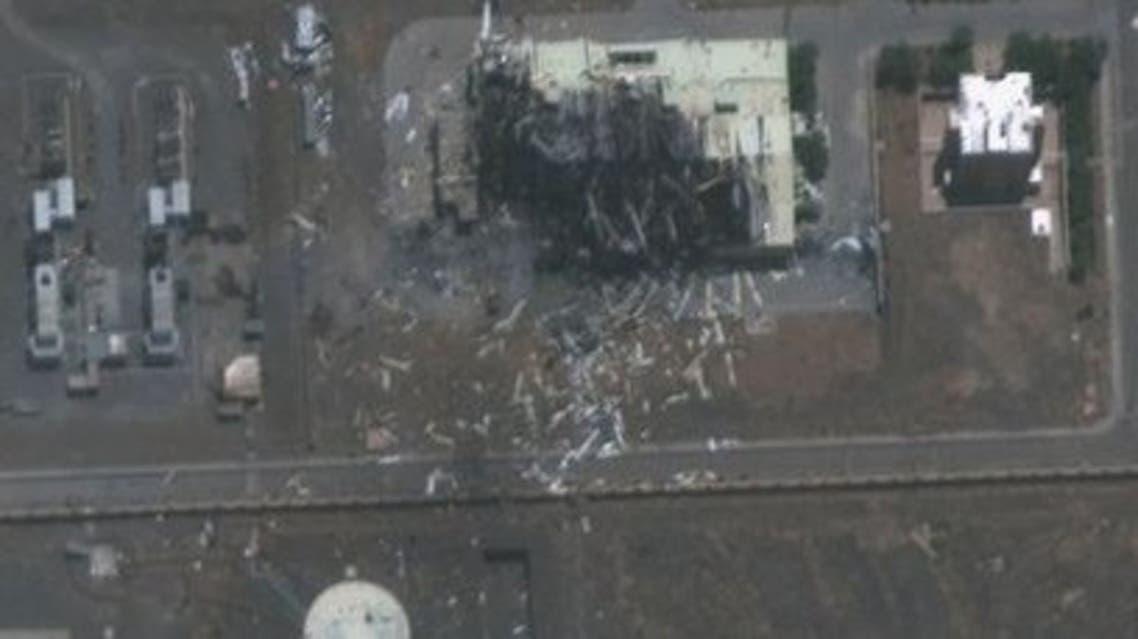 صور جديدة لتفجير موقع نطنز