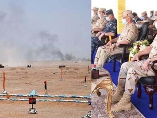فيديو لمناورات الجيش المصري على حدود ليبيا