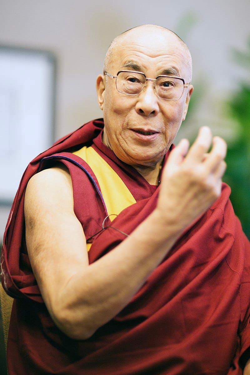 صورة معاصرة للدالاي لاما الرابع عشر