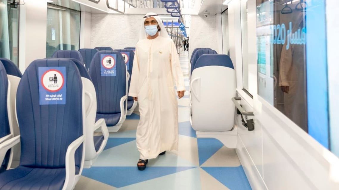 Dubai ruler launches Route 2020 project, 15 km extension of Dubai Metro Red Line