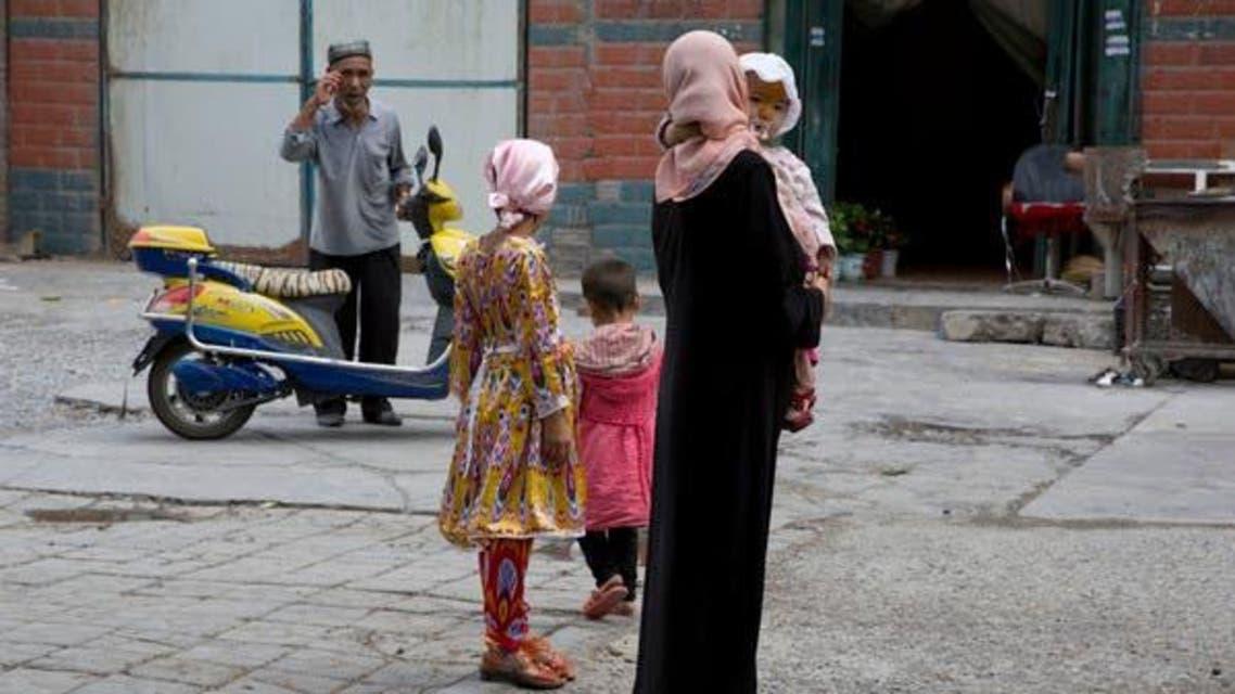Chinese Muslim Woman in Aksu