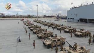 الجيش المصري يجري مناورات عسكرية قرب حدود ليبيا