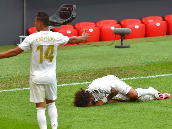 """غياب مارسيلو عن ريال مدريد بسبب """"الضامة"""""""