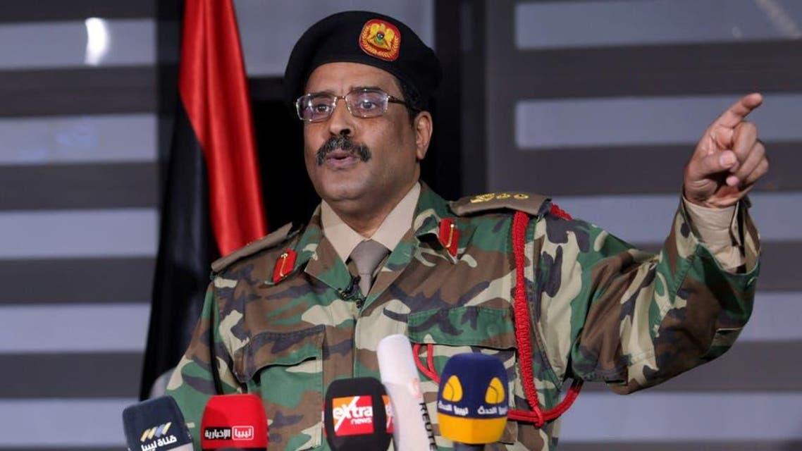 libya: Ahmad almasmari