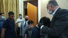 Iraq PM Kadhimi pays respects to slain scholar's family, calls him 'hero'