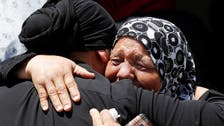Hundreds gather in West Bank for funeral of Palestinian shot by Israeli soldiers