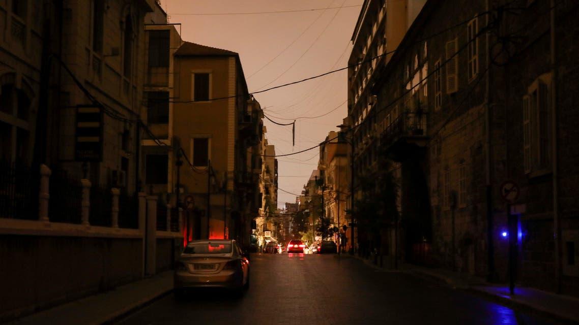 انقطاع للكهرباء في لبنان (رويترز)