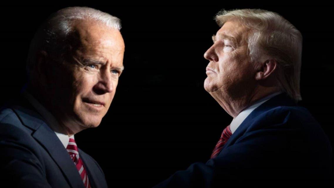 ترامپ و جو بایدن