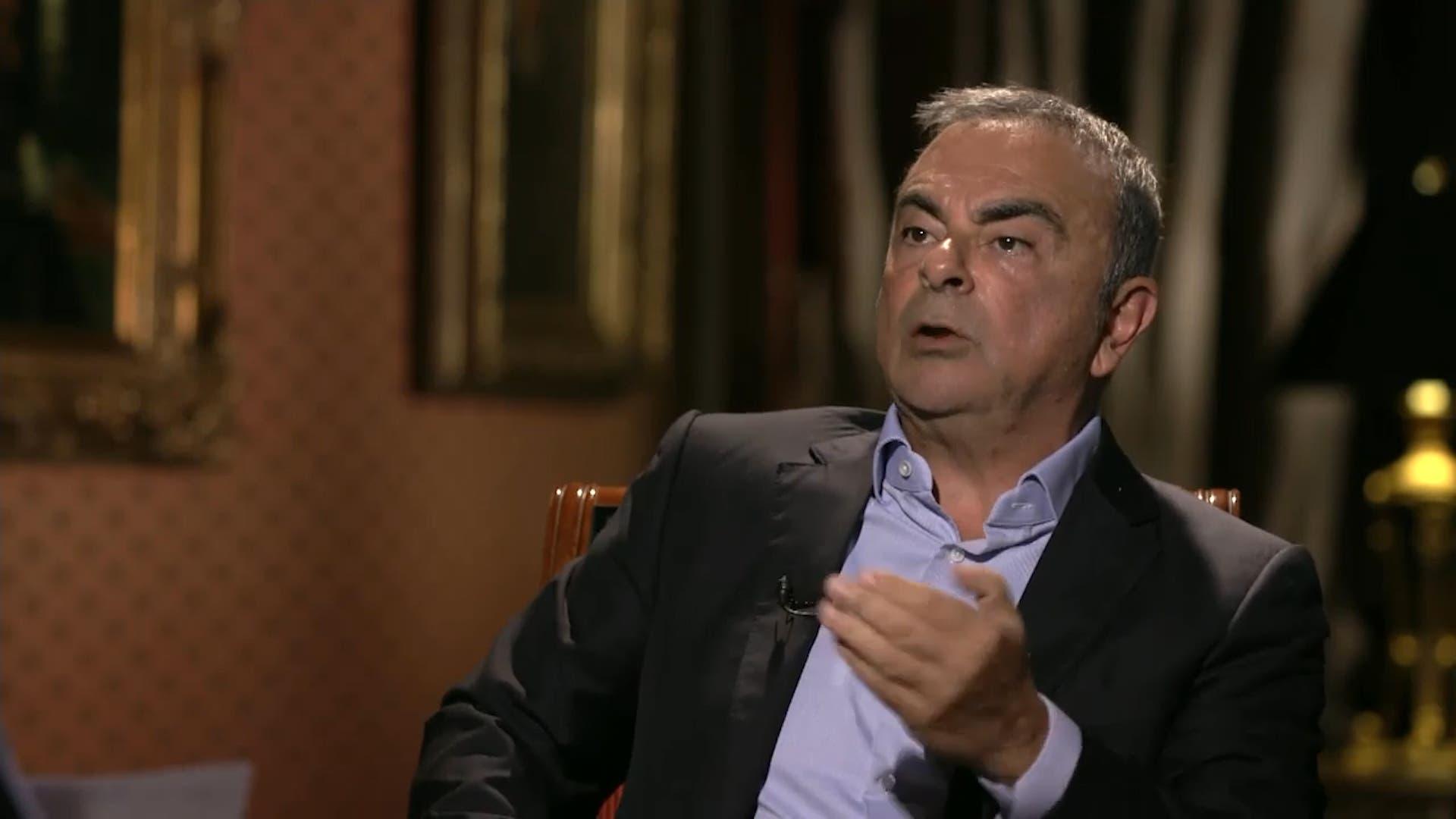 Former Nissan boss Carlos Ghosn. (Al Arabiya)