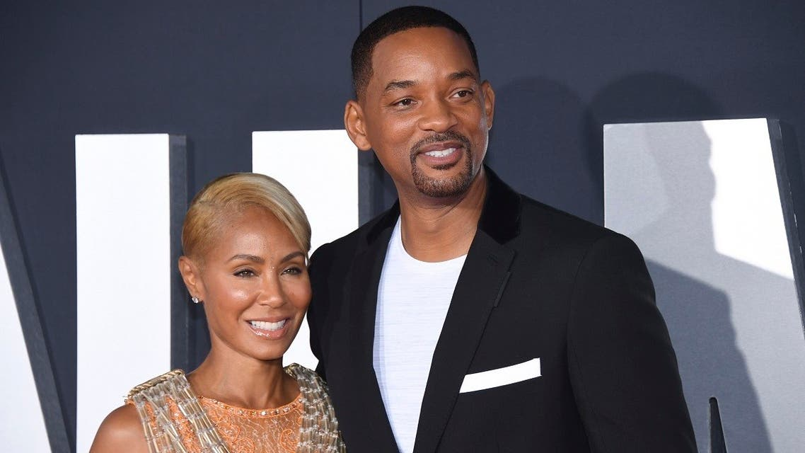 "Cast member Will Smith (R) and wife Jada Pinkett Smith attend the premiere of ""Gemini Man"" at the TCL Chinese Theater on Sunday, October 6, 2019, in Los Angeles. (AP)"