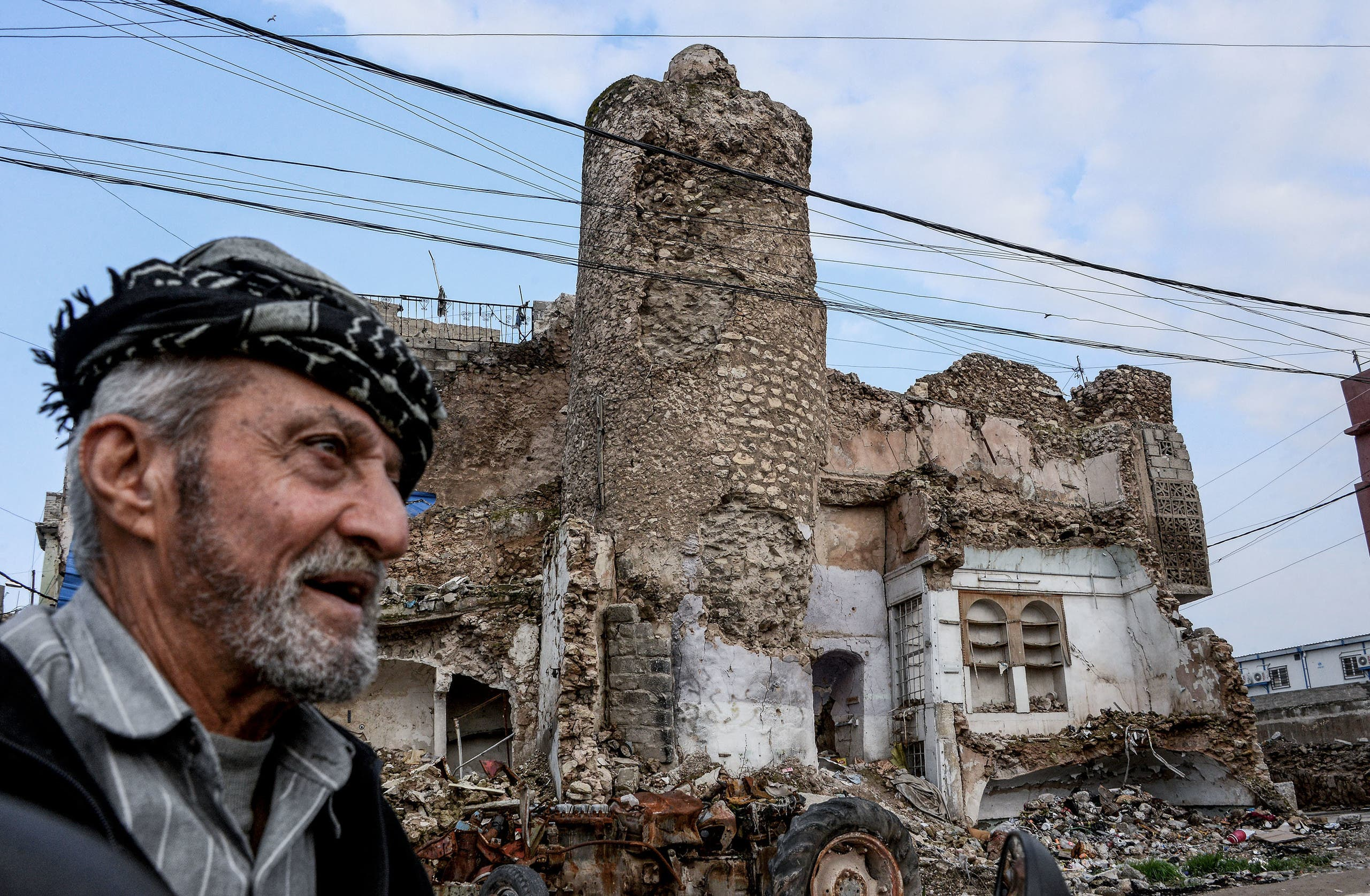 من أحياء الموصل (أرشيفية- فرانس برس)