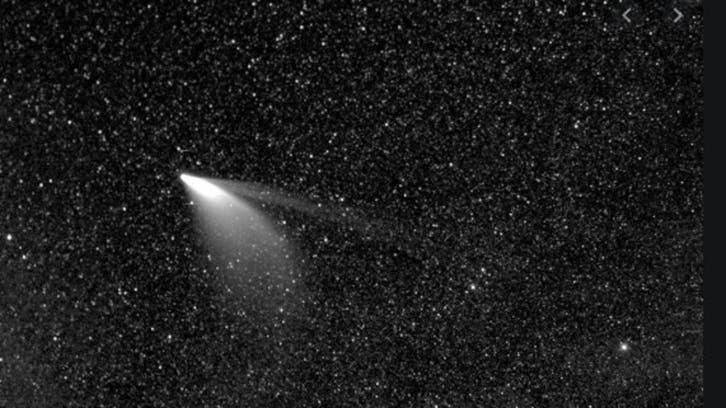 امکان مشاهده دنبالهدار بسیار درخشان «نیووایز» درنیمکره شمالی