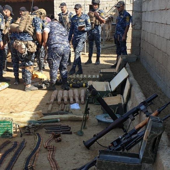 أعداد ضخمة من الأسلحة حصيلة عمليات