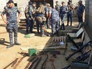 """أعداد ضخمة من الأسلحة حصيلة عمليات """"أبطال العراق"""" في ديالى"""