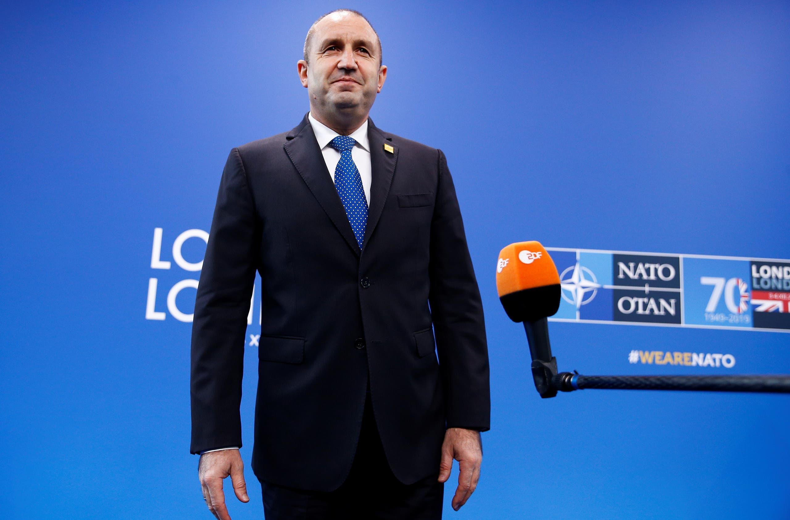 الرئيس البلغاري رومين راديف