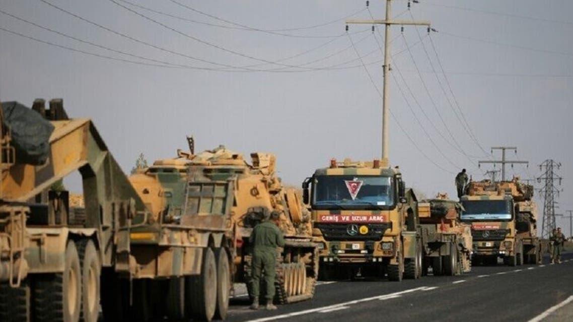 آليات تركية في شمال سوريا