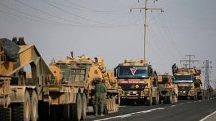الجيش التركي يدفع تعزيزات عسكرية إلى محيط إدلب السورية