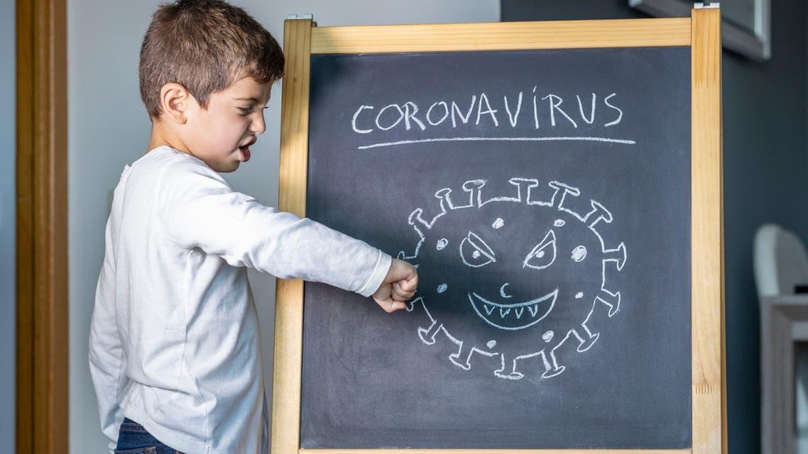 كورونا تعبيرية أطفال 7