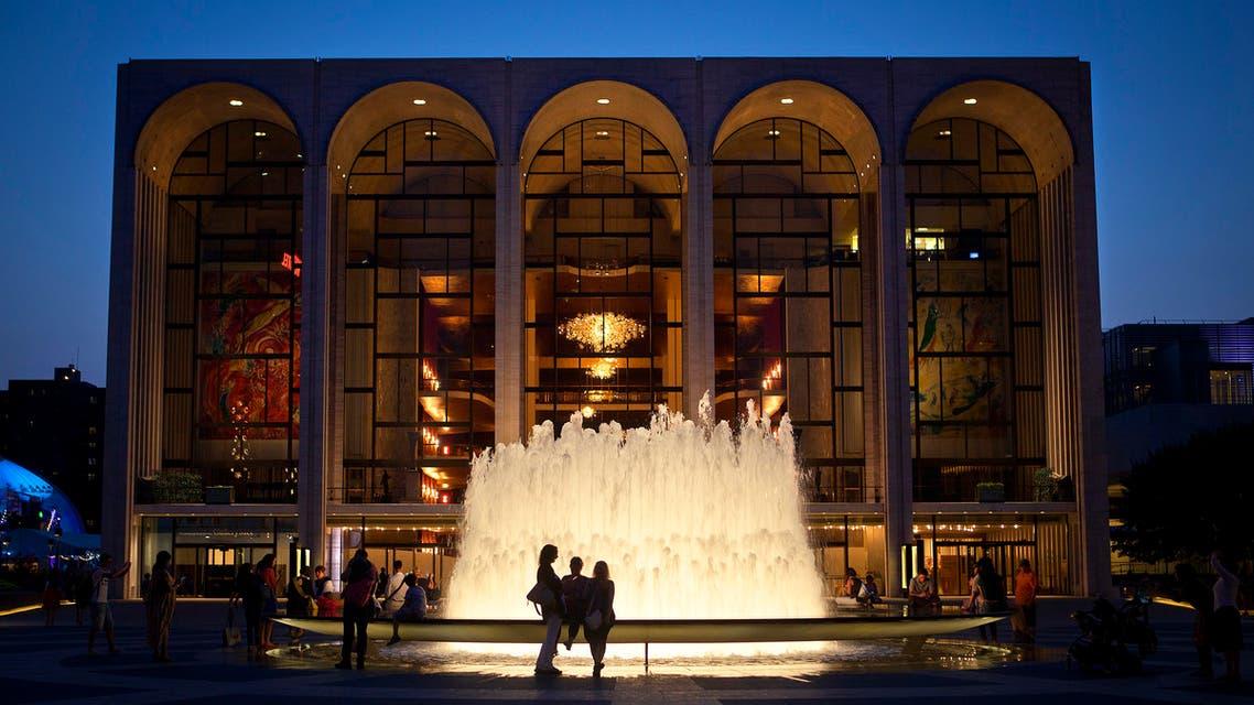 The Metropolitan Opera House is pictured at Lincoln Center in New York. (Reuters)