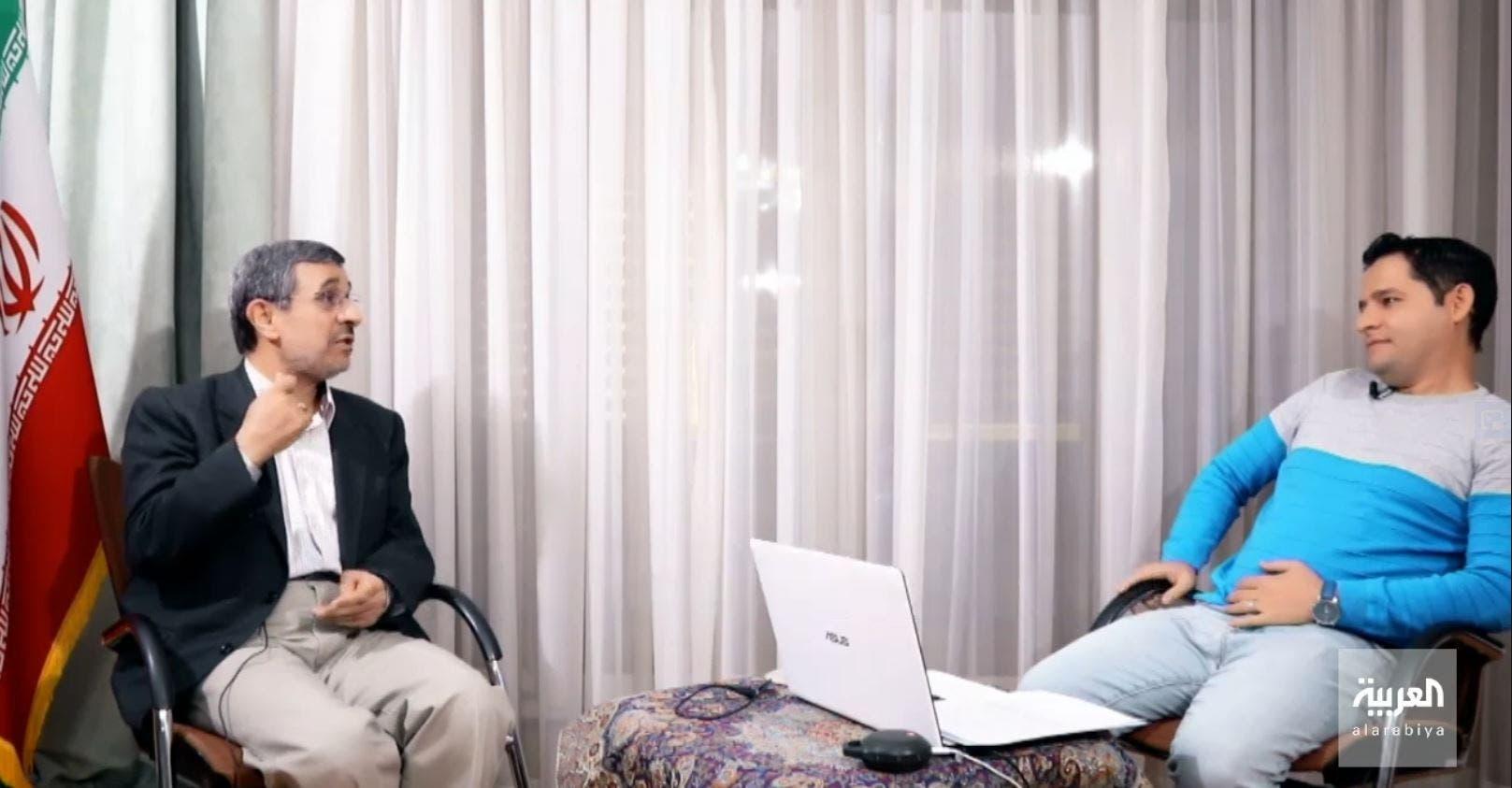 من مقابلة محمود أحمدي نجاد