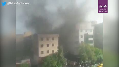 Watch: Electrical substation in Iran's Tehran catches fire | Al ...