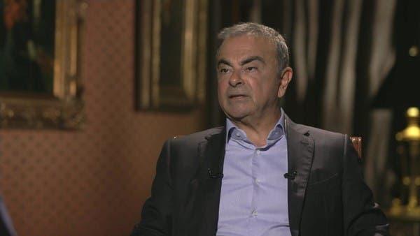 مقابلة خاصة مع كارلوس غصن رئيس شركة نيسان السابق