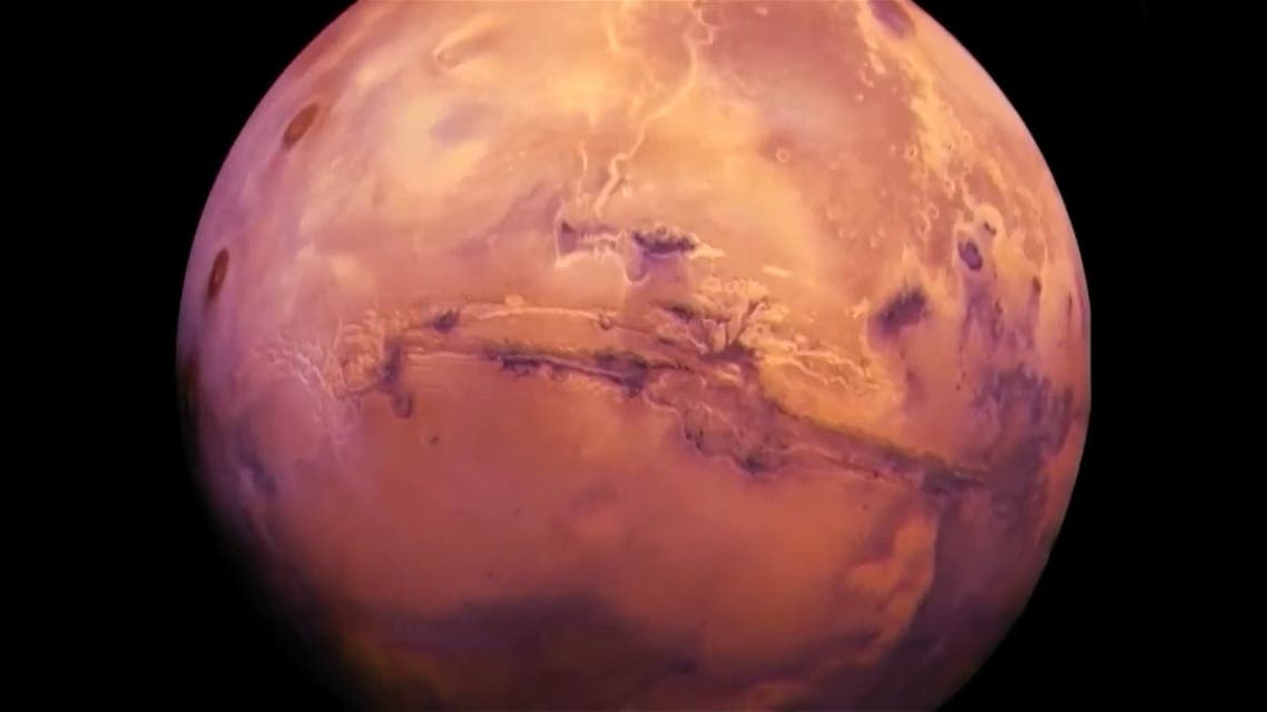 The UAE's Emirates Mars Mission Hope Probe route through space