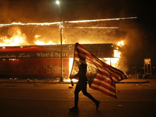 من أعمال الشغب في أميركا