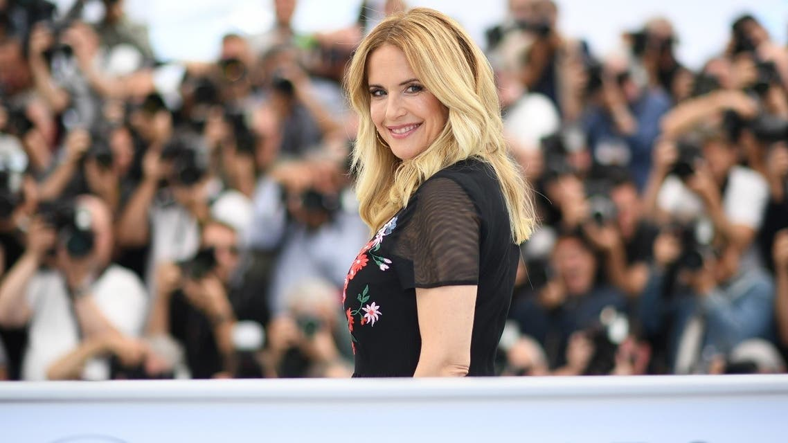 FILES) In this file photo taken on May 15, 2018 US actress Kelly Preston poses during a photocall for the film Gotti at the 71st edition of the Cannes Film Festival in Cannes, southern France. (AFP)