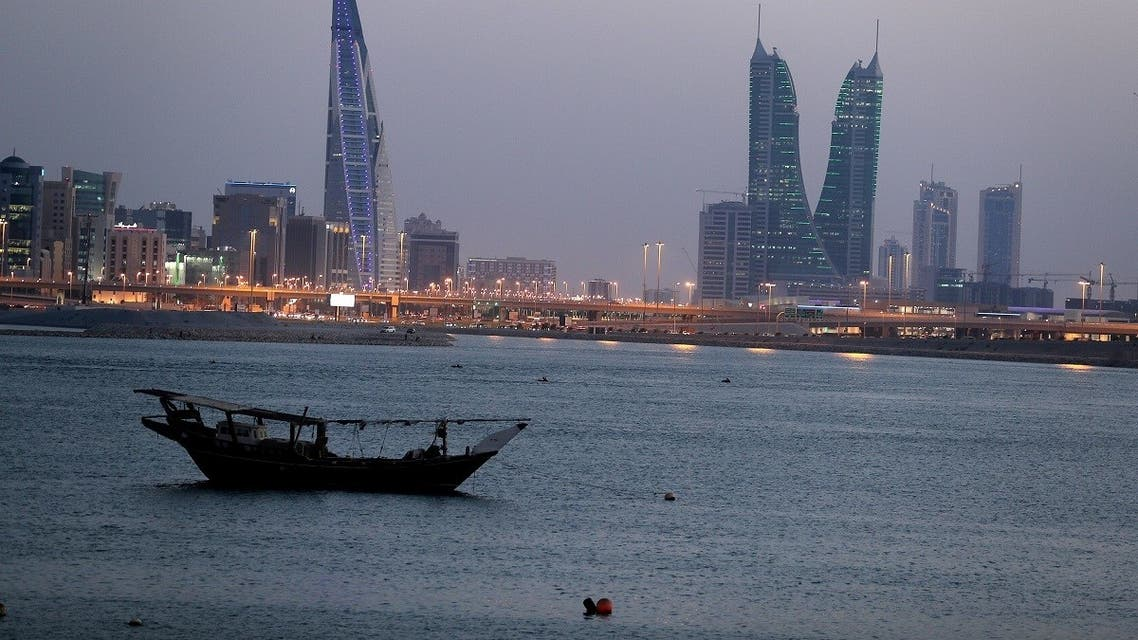 General view of Bahrain's financial district in Manama, Bahrain, June 20, 2019. (Reuters)