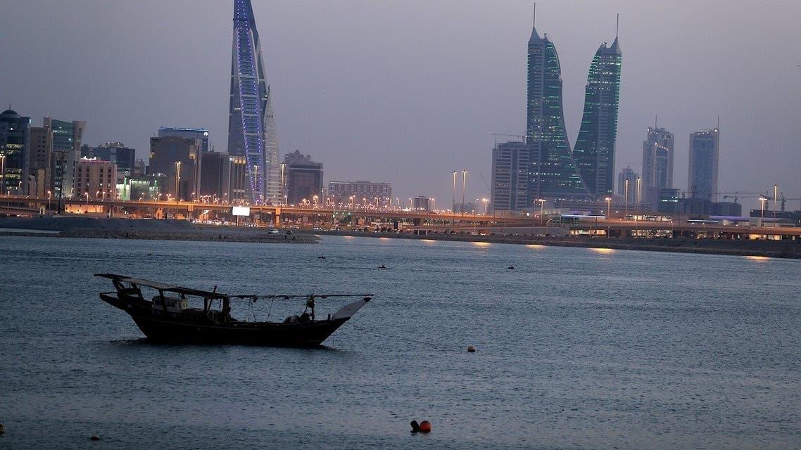 General view of Bahrain's financial district in Manama, Bahrain, June 20, 2019. (Reuters)