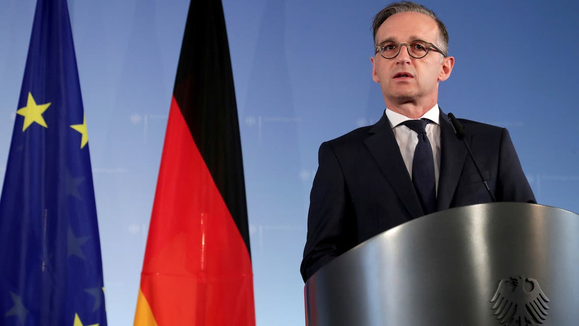 German Foreign Minister Heiko Maas on July 2, 2020. (File Photo: Reuters)