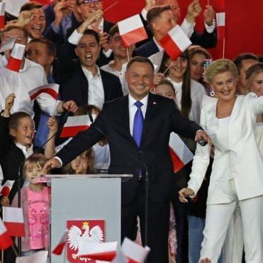 المحافظ الشعبويأندريه دودا رئيساً لبولندا بفارق ضئيل