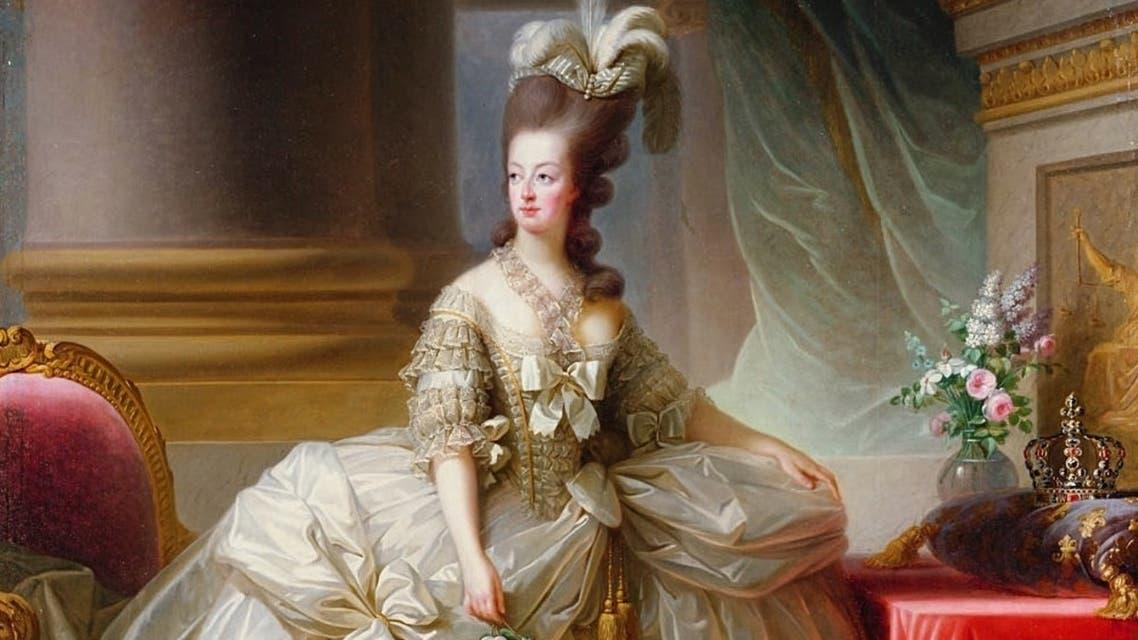 لوحة تجسد شخصية الملكة ماري أنطوانيت