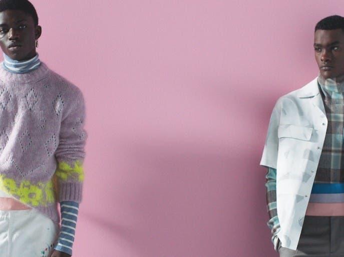 حوار موثّق بين الموضة والفن بمجموعة ديور الرجاليّة