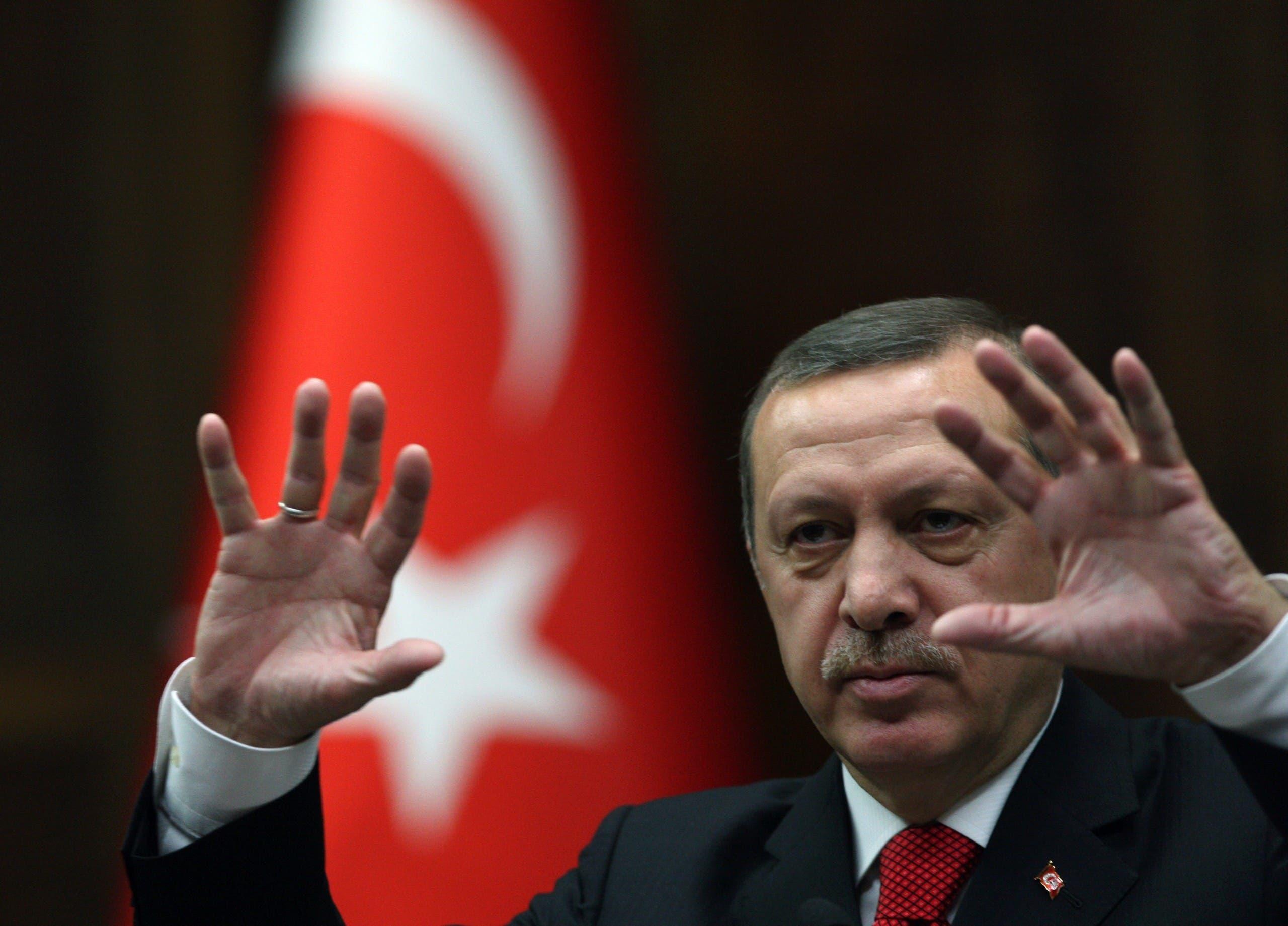 الرئيس التركي رجب طيب أردوغان (أرشيفية - أسوشييتد برس)