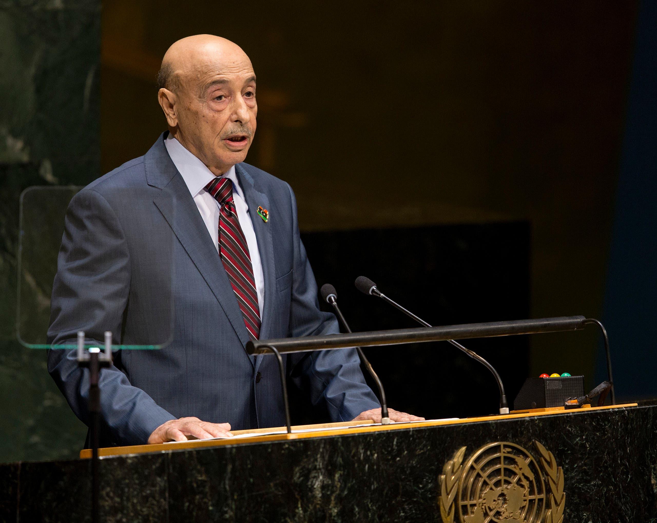 رئيس البرلمان الليبي عقيلة صالح (أرشيفية- أسوشييتد برس)