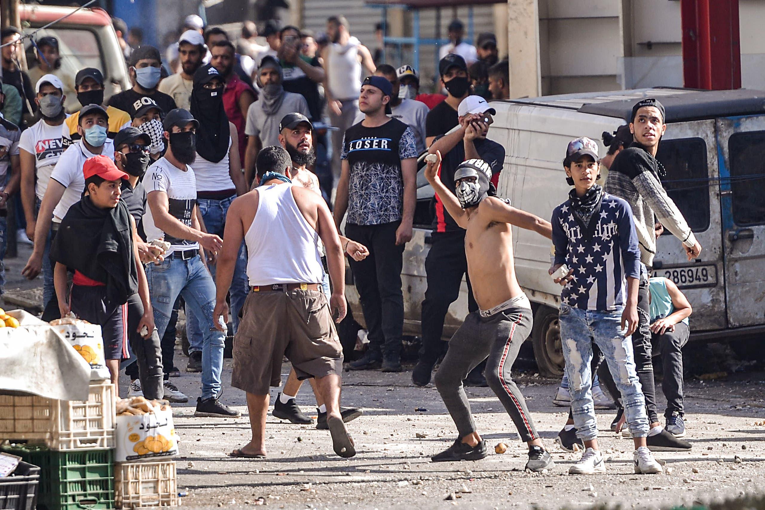 من احتجاجات طرابلس شمال لبنان (يونيو 2020- فرانس برس)