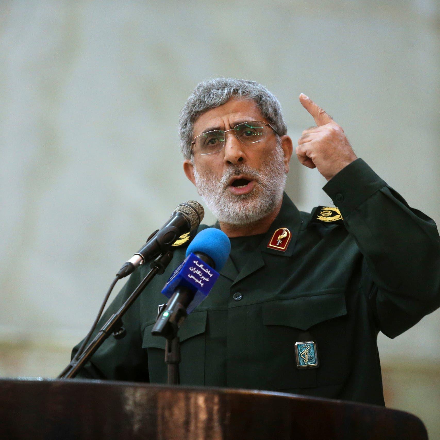 تقارير: قاآني زار لبنان وطلب من نصرالله عدم استفزاز إسرائيل