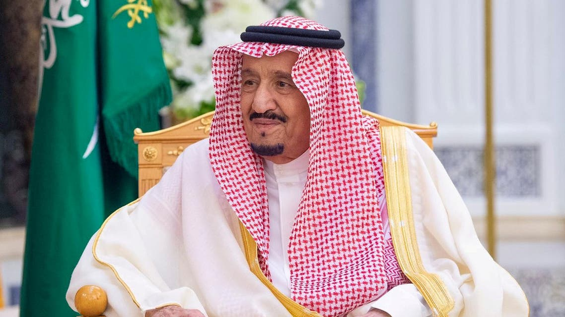 Saudi King Salman bin Abdulaziz in Riyadh, Saudi Arabia, March 5, 2020. (Saudi Royal Court via Reuters)
