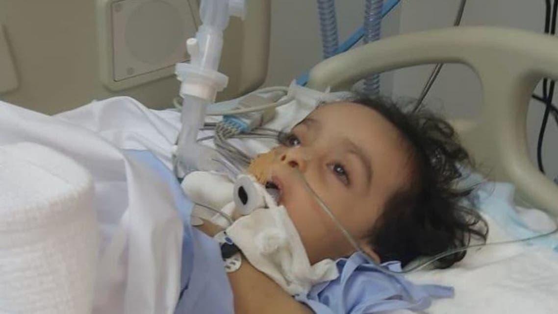 The Saudi Arabian child who died after a coronavirus swab broke inside his nasal cavity. (Al Arabiya)